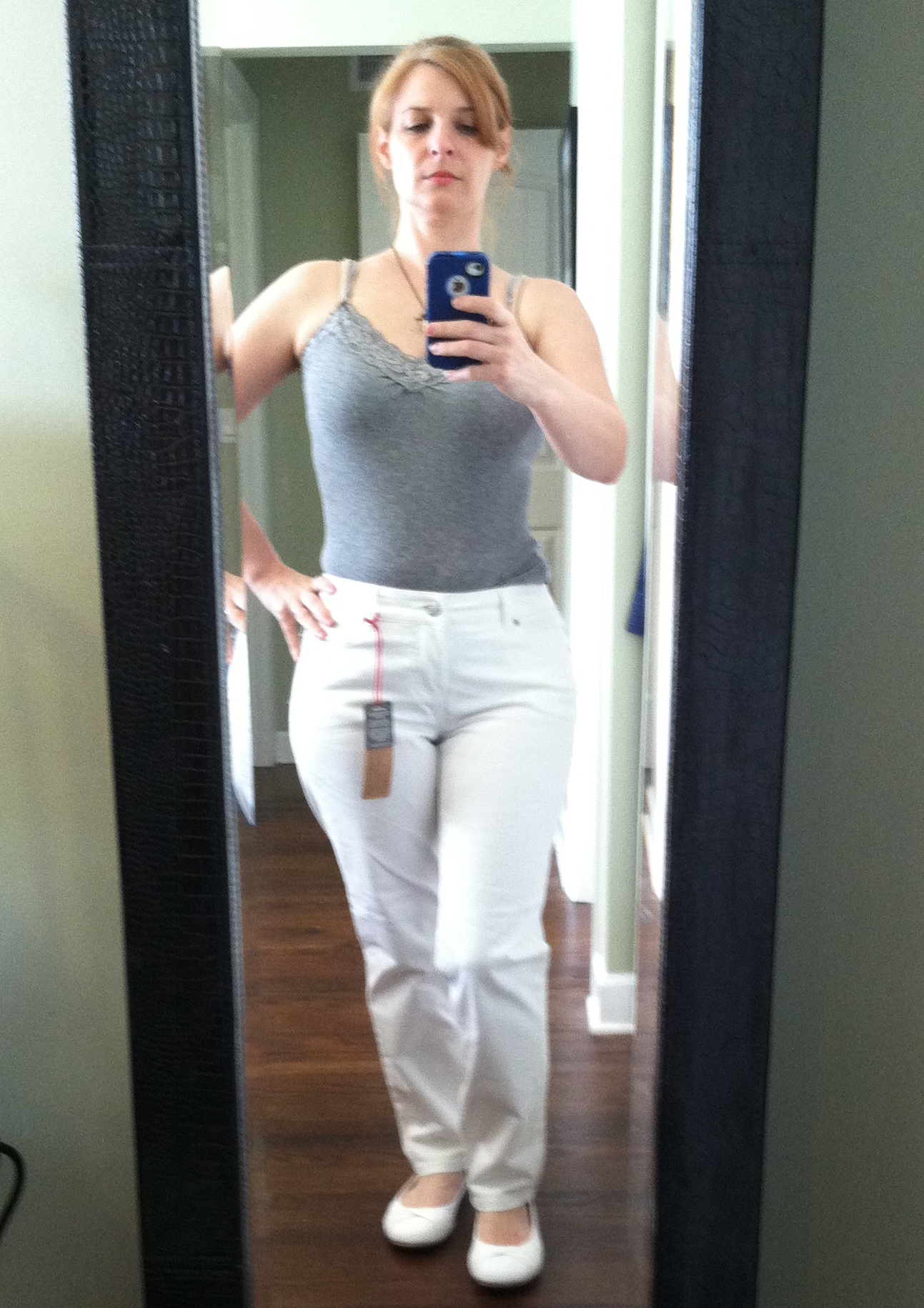 White Jeans Cellulite - Jeans Am